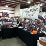 wide view of the booth