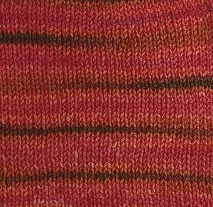 Orange/Pink/Brown Stripes