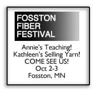 Fosston Fiber Festival