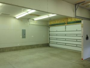 Large, well lit & heated space!